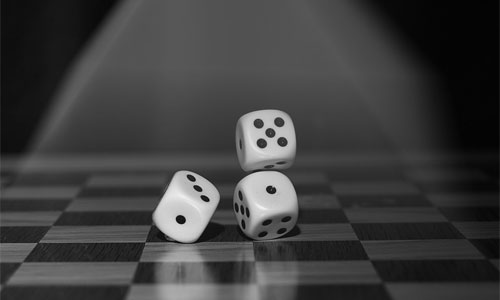 3 Ways Asian Dice Games Can Create A Competitive Environment black and white dice - 3 Ways Asian Dice Games Can Create A Competitive Environment